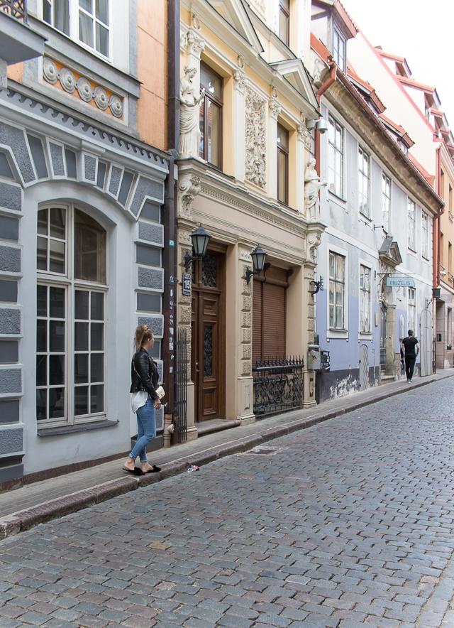 oma tyyli, Villa H, Riika, vanha kaupunki Riika, Riga