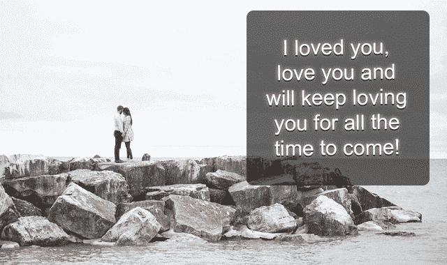 lovely message for husband
