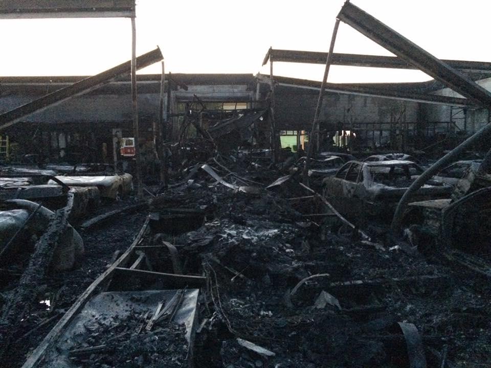 International Vehicle Importers >> Multiple Skylines Lost In Fire At International Vehicle