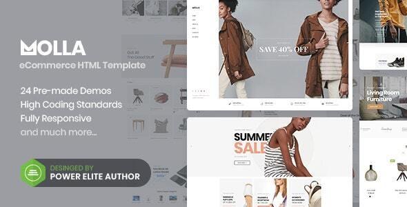 Premium Multipurpose eCommerce HTML5 Template