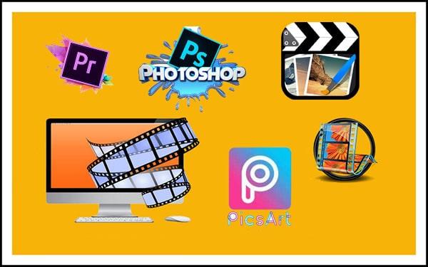 لمحة على برامج تصميم الصور والفيديو