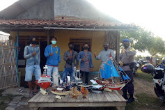 Dimasa Pandemi Pemuda Pantai Bakti Membuat Miniatur Kapal