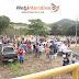 Ponto Novo: Agricultores, comerciantes, populares, MST e MPA realizam manifestação na barragem e ETA da Embasa