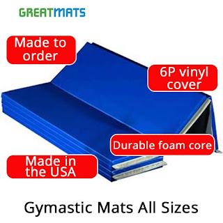 Greatmats Gymnastic Mats infographic