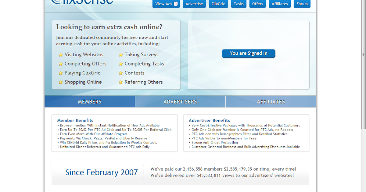 Clixsense Paid To Click (PTC) - Is it Worth It? :: Creative Some