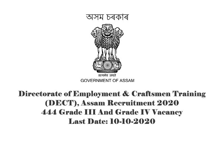 Directorate of Employment & Craftsmen Training (DECT)