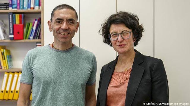 Suami Istri Berdarah Turki, Ilmuwan di Balik Vaksin Pfizer yang Ampuh Lawan Corona