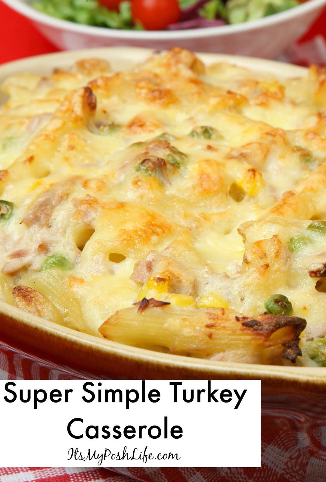 Super Simple Turkey Casserole