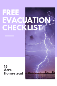 How and why you should prepare for a disaster NOW.