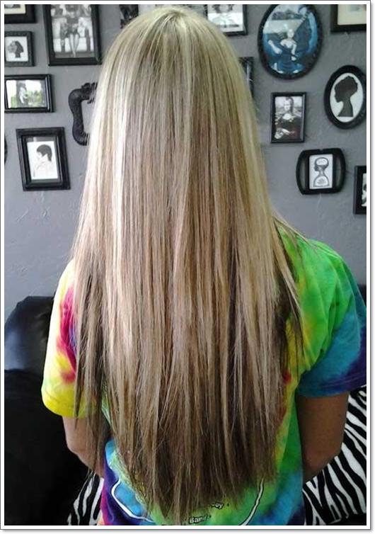 Die neusten Frisuren für lange Haare