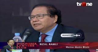 Rizal Ramli Ingatkan Kembali: Dwifungsi TNI dihilangkan, Namun Kepolisian RI Menjadi Multifungsi