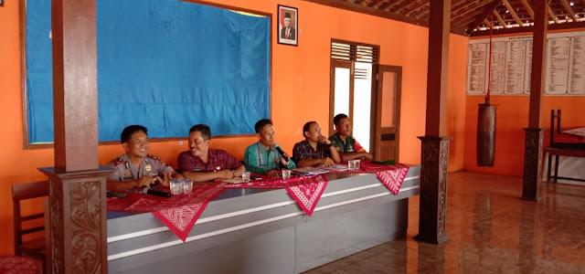 Kodim Sragen - Evaluasi Lomba Desa Kecamatan Tanon