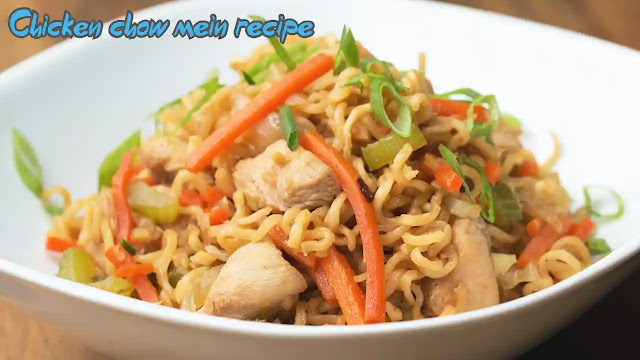 The best and easiest chicken chow mein recipe