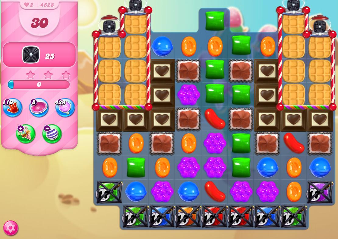 Candy Crush Saga level 4528