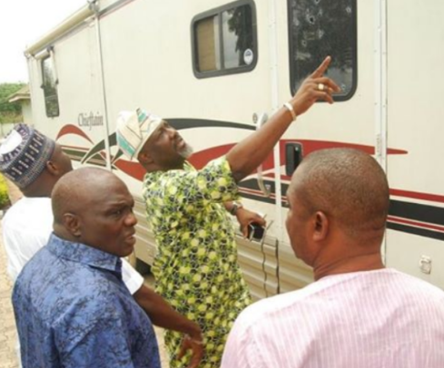 dino melaye attackers arrested