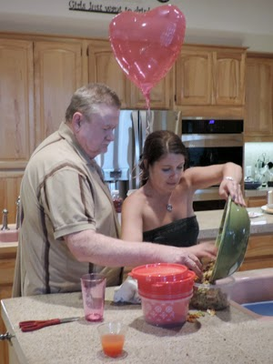 Opa and Mary clean-up
