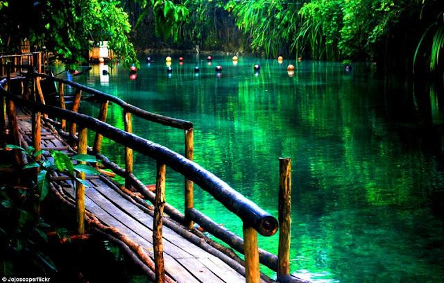 Inilah Sungai Negeri Dongeng Didunia Nyata