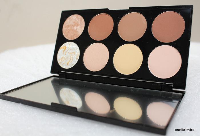 Makeup revolution london contour kit review