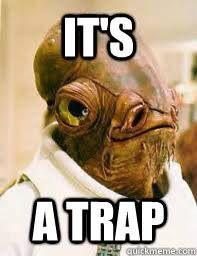 meme lucu trap, meme it's trap