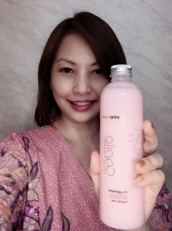 singapore beauty influencer reviews capilo shampoo oxygenum