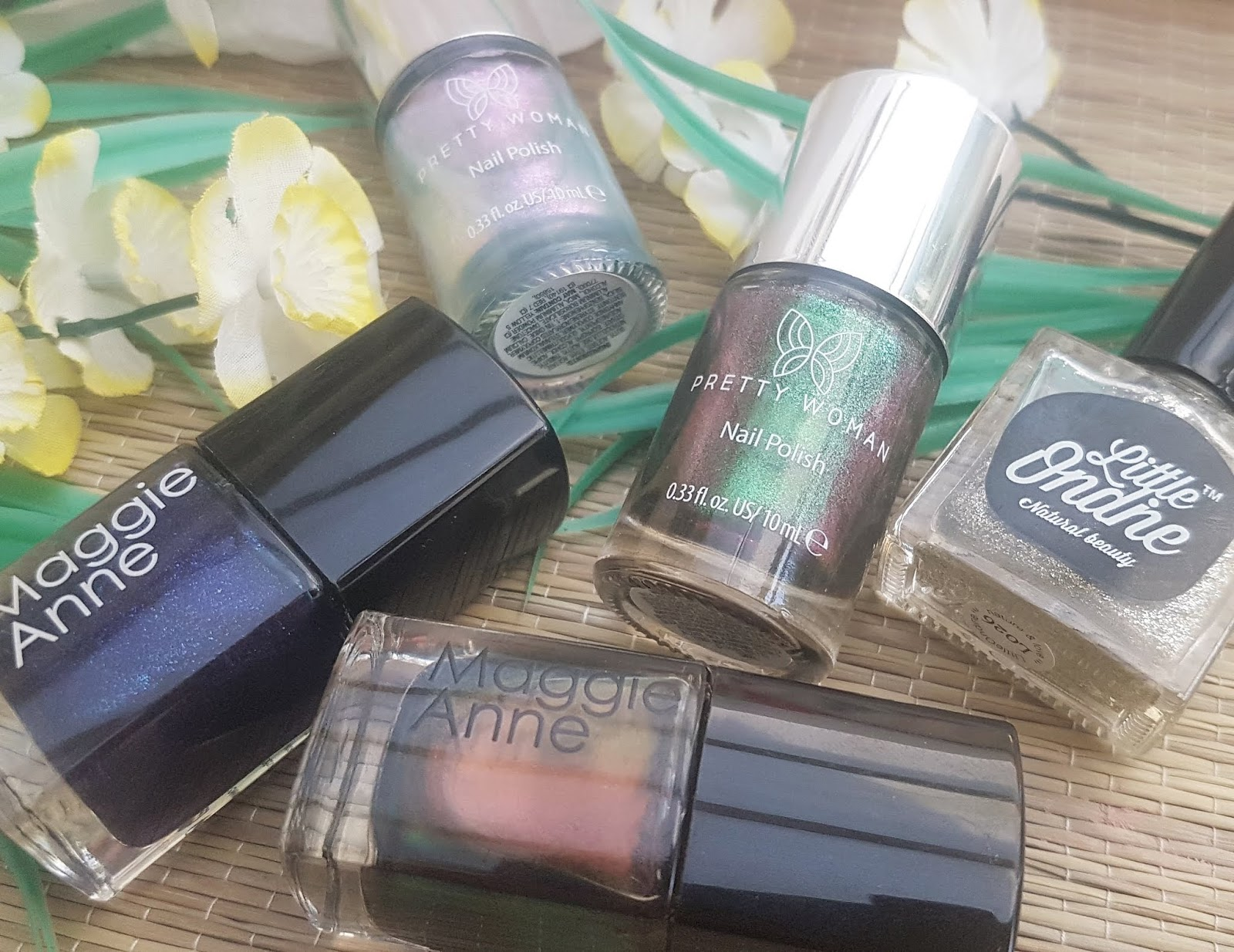 Maggie Anne, Pretty Woman NYC, and Little Ondine Nail Polish - Best Makeup of 2019