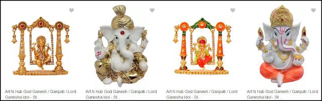 Ganesh Ji Idol for car
