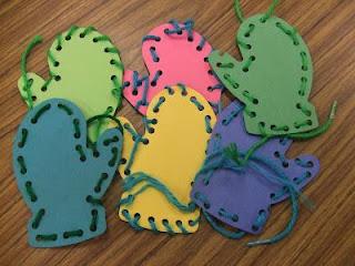 http://preschoolteacher81.blogspot.com/2012/02/lacing-mittens-fine-motor-activity.html
