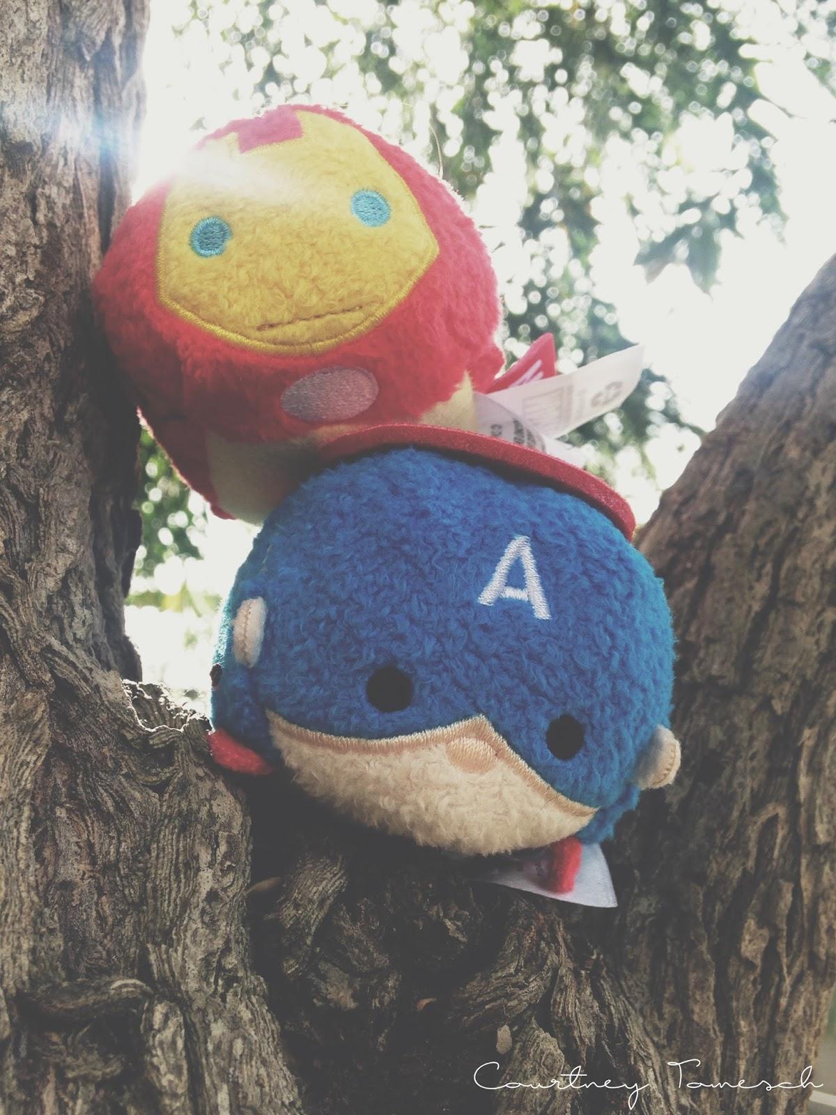 Courtney Tomesch Captain America Iron Man Tsum Tsum