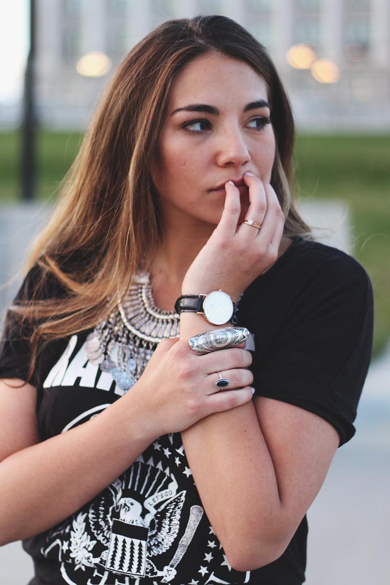 utah fashion blogger, silver rings