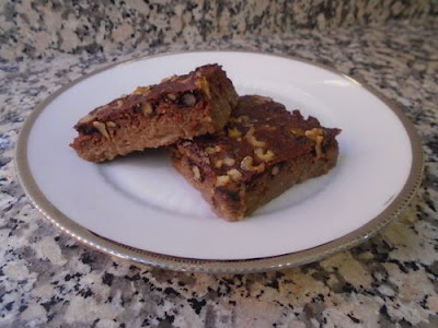 Brownie de manzana
