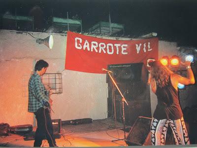 GARAGE H ... nos acompañaron en el Patio de María - LA HABANA 1996