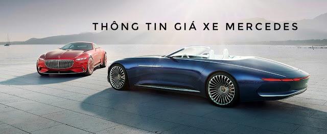 Mercedes Trường Chinh luôn cập nhật Bảng giá xe mới nhất