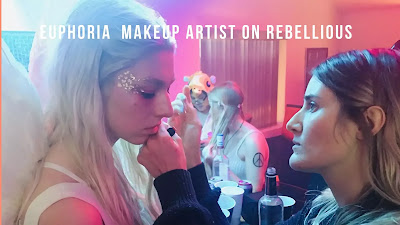 Euphoria  Makeup Artist on Rebellious,