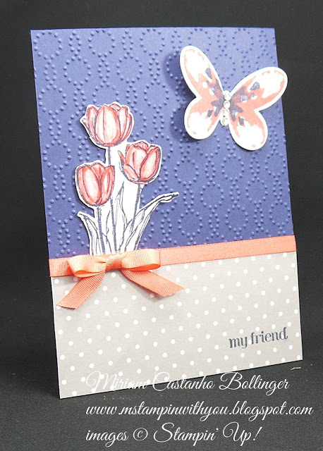 Miriam Castanho-Bollinger, #mstampinwithyou, stampin up, demonstrator, ccmc, all occasions card, blessed easter, and many more stamp set, watercolor wings bundle, elegant dots tief, big shot, su