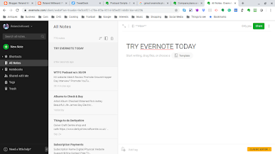 Evernote an easy way to store notes online and more
