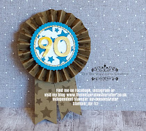 Stampin Up family party 90th birthday rosette