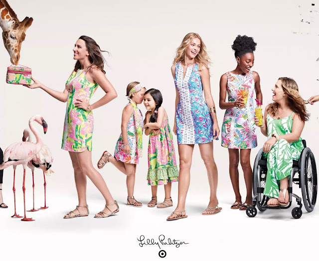 Lilly Pulitzer for Target lookbook