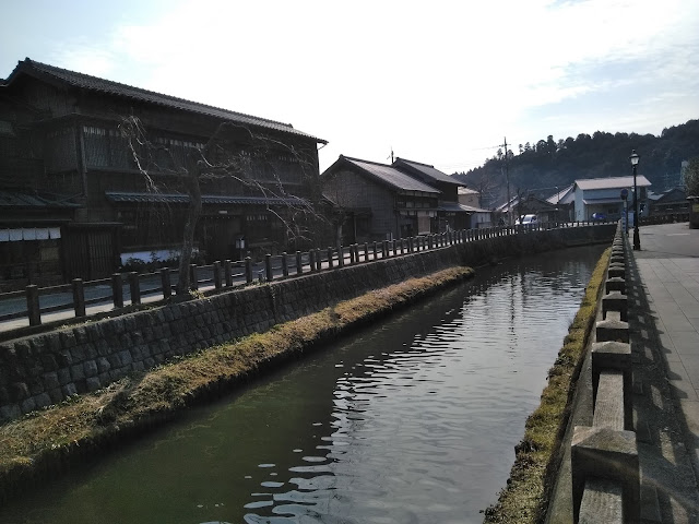 佐原の川沿い写真