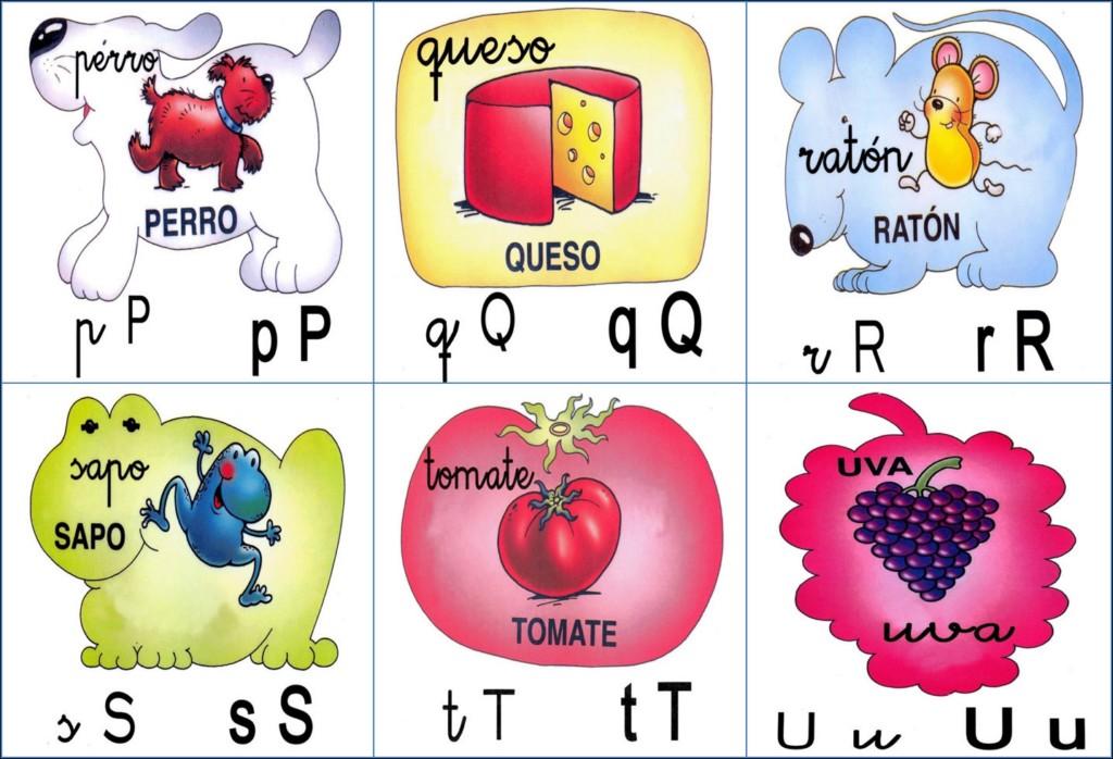 Abecedario con los cuatro tipos de letras para imprimir - Imagui