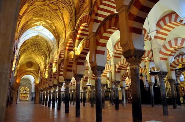 Arcos da Mesquita de Córdoba