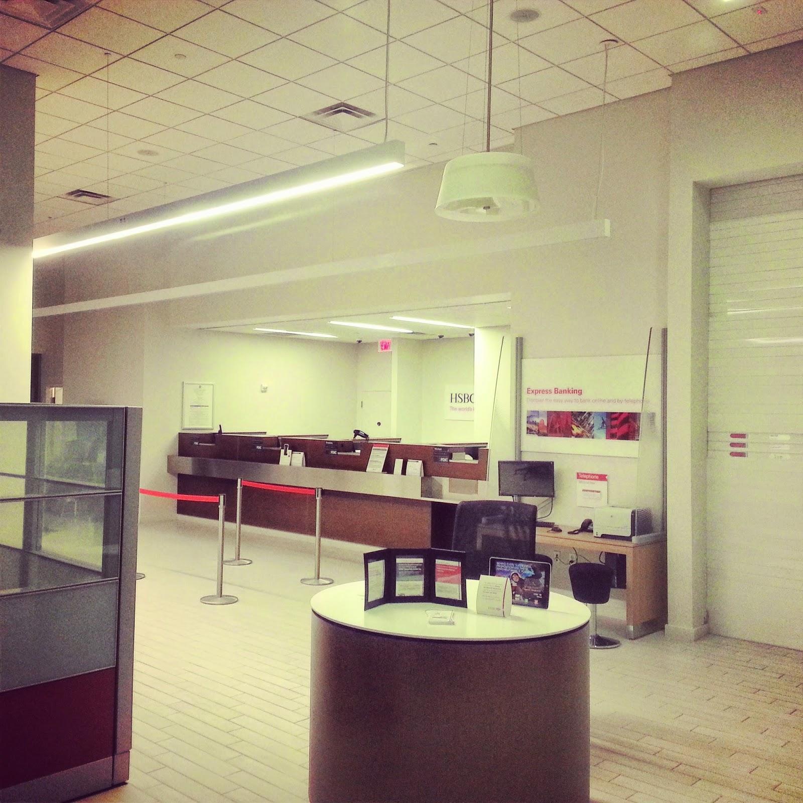 Robert Dyer @ Bethesda Row: HSBC BANK ELIMINATING SATURDAY HOURS IN