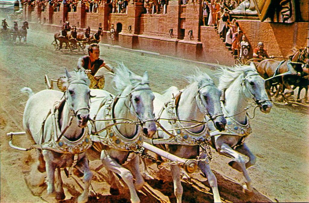 Carrera de Cuadrigas Ben-Hur