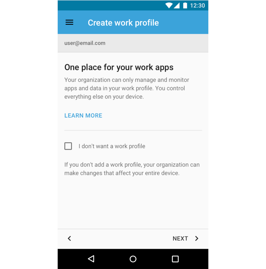 Gmail theme does not work - Enrolling A Corporate Account Allows Your End Users To Access The Managed Play Store For Curated And Whitelisted Apps And Provides A Clear Separation