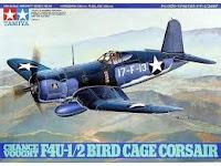 Galerie photos de la maquette du F4U-1 CORSAIR de Tamiya au 1/48.