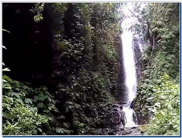 Tempat Wisata Air Terjun Binangun Watu Jadah