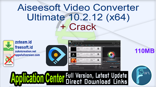 Aiseesoft Video Converter Ultimate 10.2.12 (x64) + Crack