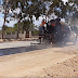 Consórcio Jacuípe, em parceria com a prefeitura de Quixabeira está realizando a construção do acostamento da BA 791