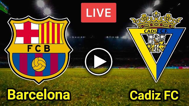 مباراة قاديش وبرشلونة الدوري الإسباني بث مباشر