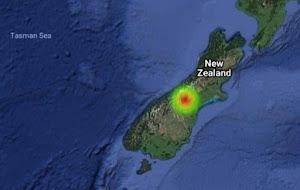 Έκρηξη φωτεινού μετεώρου στην Νέα Ζηλανδία!