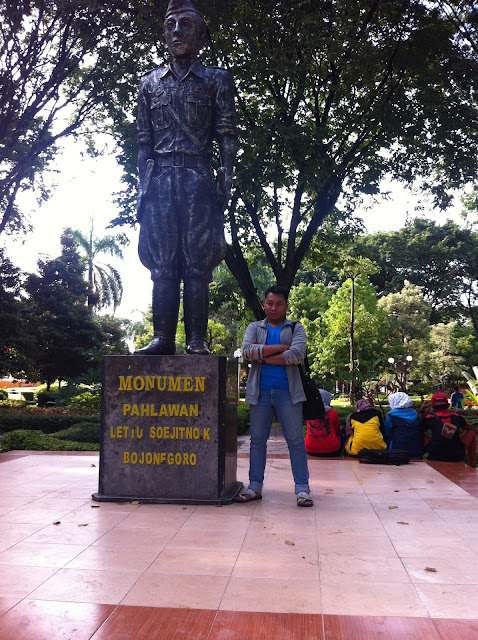 Monumen Pahlawan Lettu Soejitno Koesoemobroto